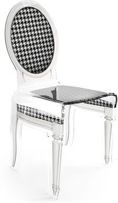 Acrylic Dining Chair Clear French-Style image 46