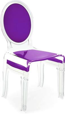 Acrylic Dining Chair Clear French-Style image 47