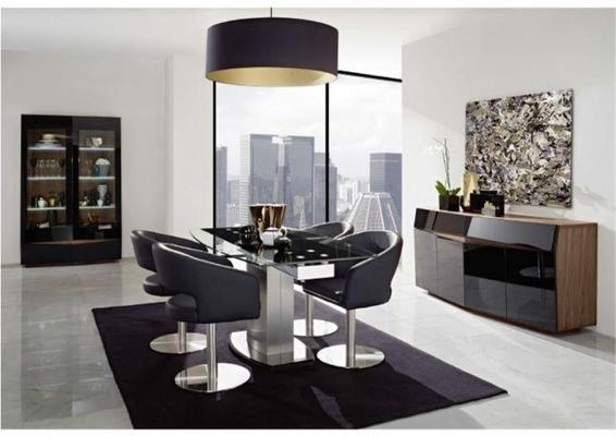 Berlin swivel dining chair image 2
