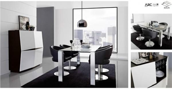 Berlin swivel dining chair image 3
