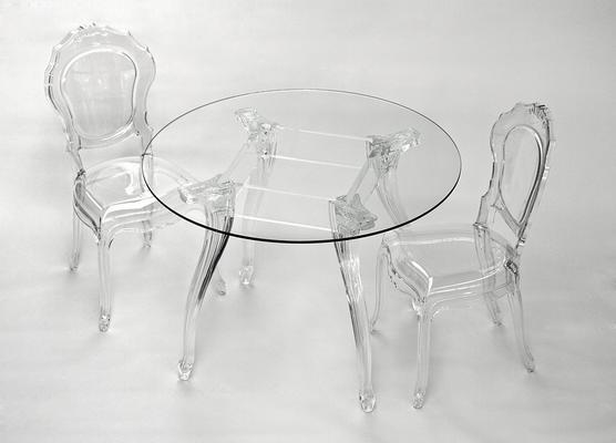 Ameline Acrylic Chair - Transparent Finish image 2