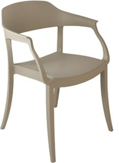 Strass Italian Armchair Modern Stackable Design image 3