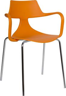 Iron Shark Chair Modern Design Steel Frame image 2