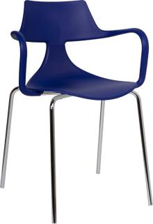 Iron Shark Chair Modern Design Steel Frame image 4