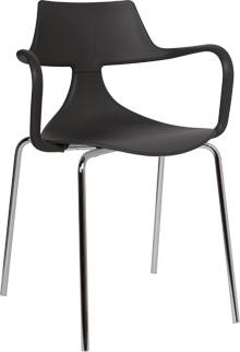 Iron Shark Chair Modern Design Steel Frame image 5