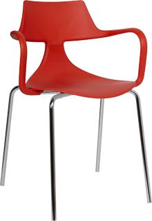 Iron Shark Chair Modern Design Steel Frame image 6