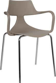 Iron Shark Chair Modern Design Steel Frame image 7