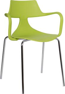 Iron Shark Chair Modern Design Steel Frame image 8