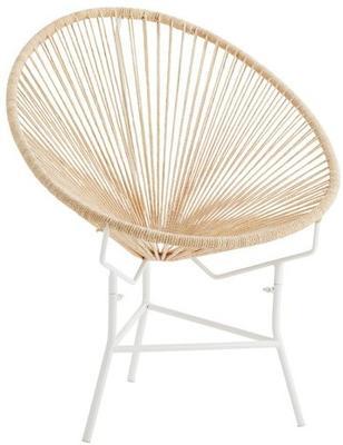 Jute String Ring Iron Chair image 2