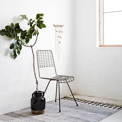 Wire Mesh Dining Chair Scandinavian