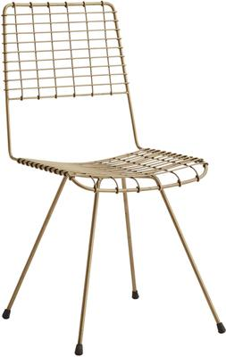 Wire Mesh Dining Chair Scandinavian image 2