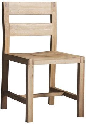 2 x Kielder Simple Oak Wood Dining Chair