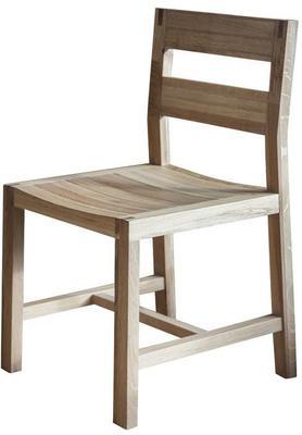 2 x Kielder Simple Oak Wood Dining Chair image 3