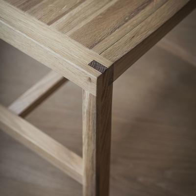 2 x Kielder Simple Oak Wood Dining Chair image 4