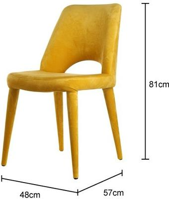 Upholstered Modern Dining Chair image 2