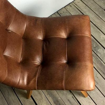 Allegro Brown Cerato Leather Dining Chair image 3