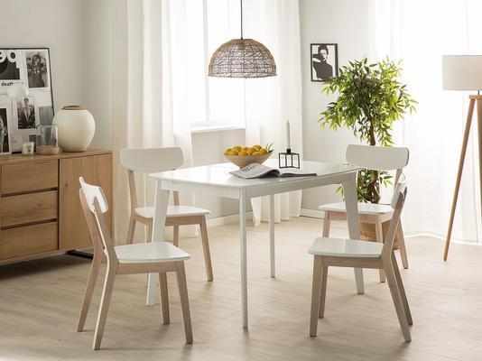 Santos Dining Chair White Seat image 2