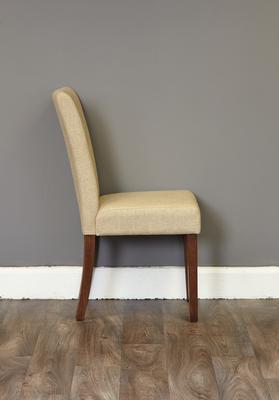 Shiro Walnut Flare Back Dining Chair - set of 2 image 3