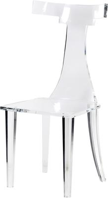 T-Back Acrylic Dining Chair