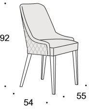 Elysee dining chair image 6