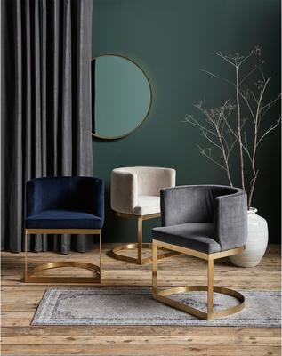 Half Circle Dining Chair image 4