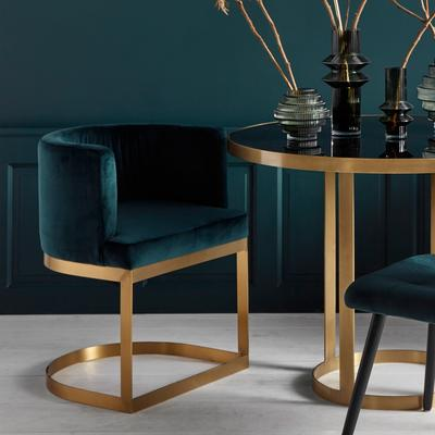 Half Circle Dining Chair image 9
