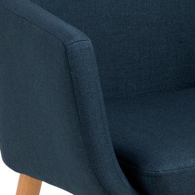 Nori (fabric) carver chair image 2