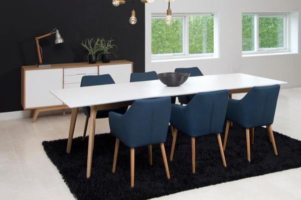 Nori (fabric) carver chair image 4