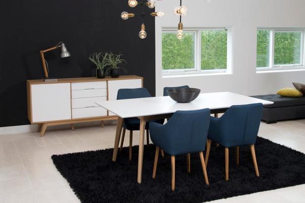 Nori (fabric) carver chair image 6