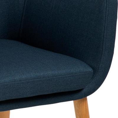 Nori (fabric) carver chair image 8