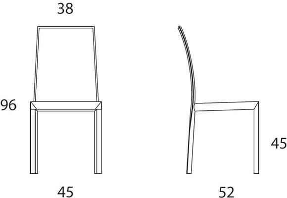 Romina dining chair image 6