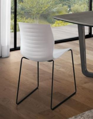 Eva dining chair (metal legs) image 2