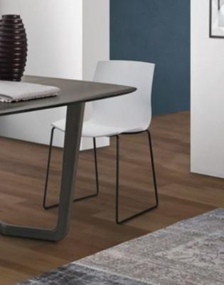 Eva dining chair (metal legs) image 3