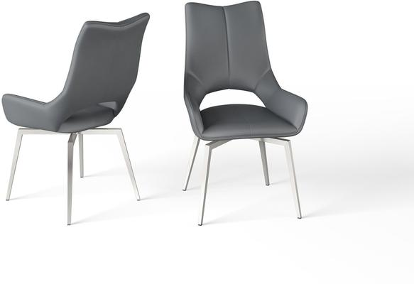 Spinello swivel dining chair image 2