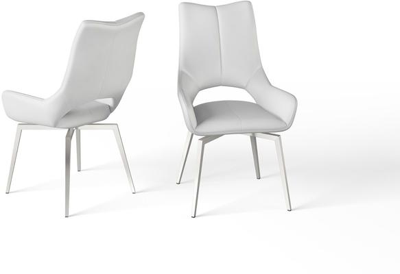 Spinello swivel dining chair image 4