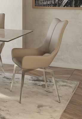 Spinello swivel dining chair image 5