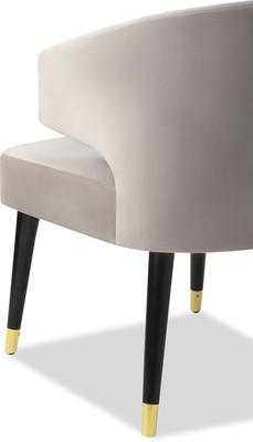 Mia Velvet Deco Dining Chair image 3