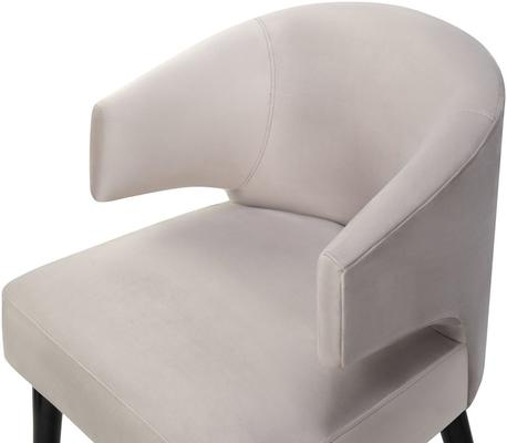 Mia Velvet Deco Dining Chair image 4