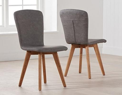 Staten (faux leather) dining chair