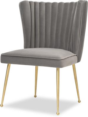 Nico Velvet Creased Dining Chair image 7