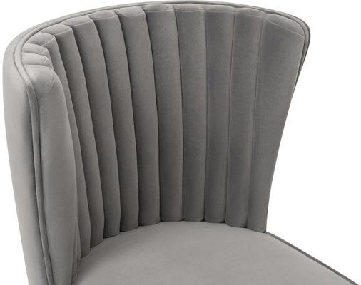 Nico Velvet Creased Dining Chair image 9