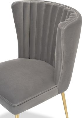 Nico Velvet Creased Dining Chair image 10