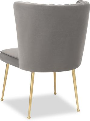 Nico Velvet Creased Dining Chair image 11
