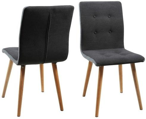 2 Fridi (grey) dining chairs (sale)