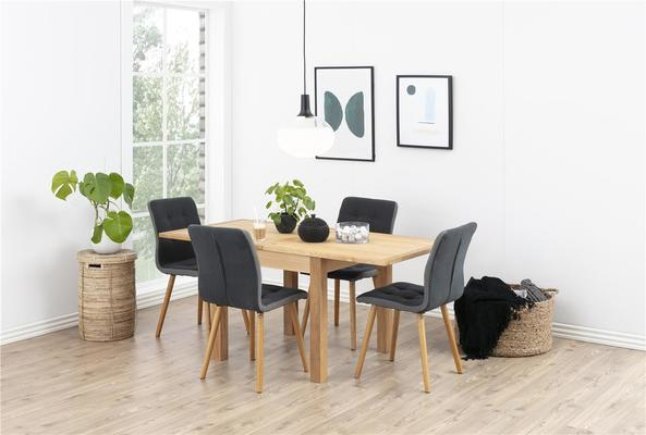 2 Fridi (grey) dining chairs (sale) image 4