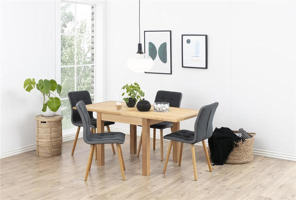 2 Fridi (grey) dining chairs (sale) image 5