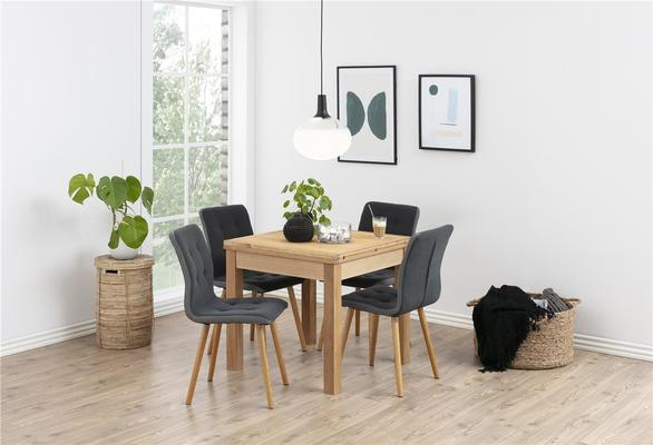 2 Fridi (grey) dining chairs (sale) image 6