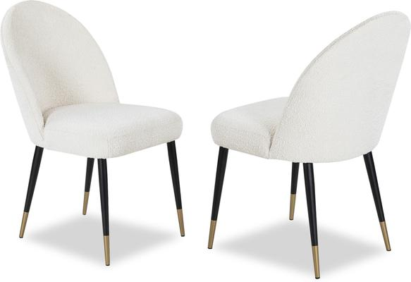 2 x Alfa Velvet Dining Chairs image 19