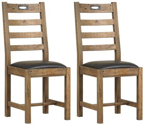 New York ladder back dining chair
