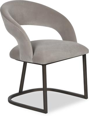 Alfie Velvet Dining Chair image 7